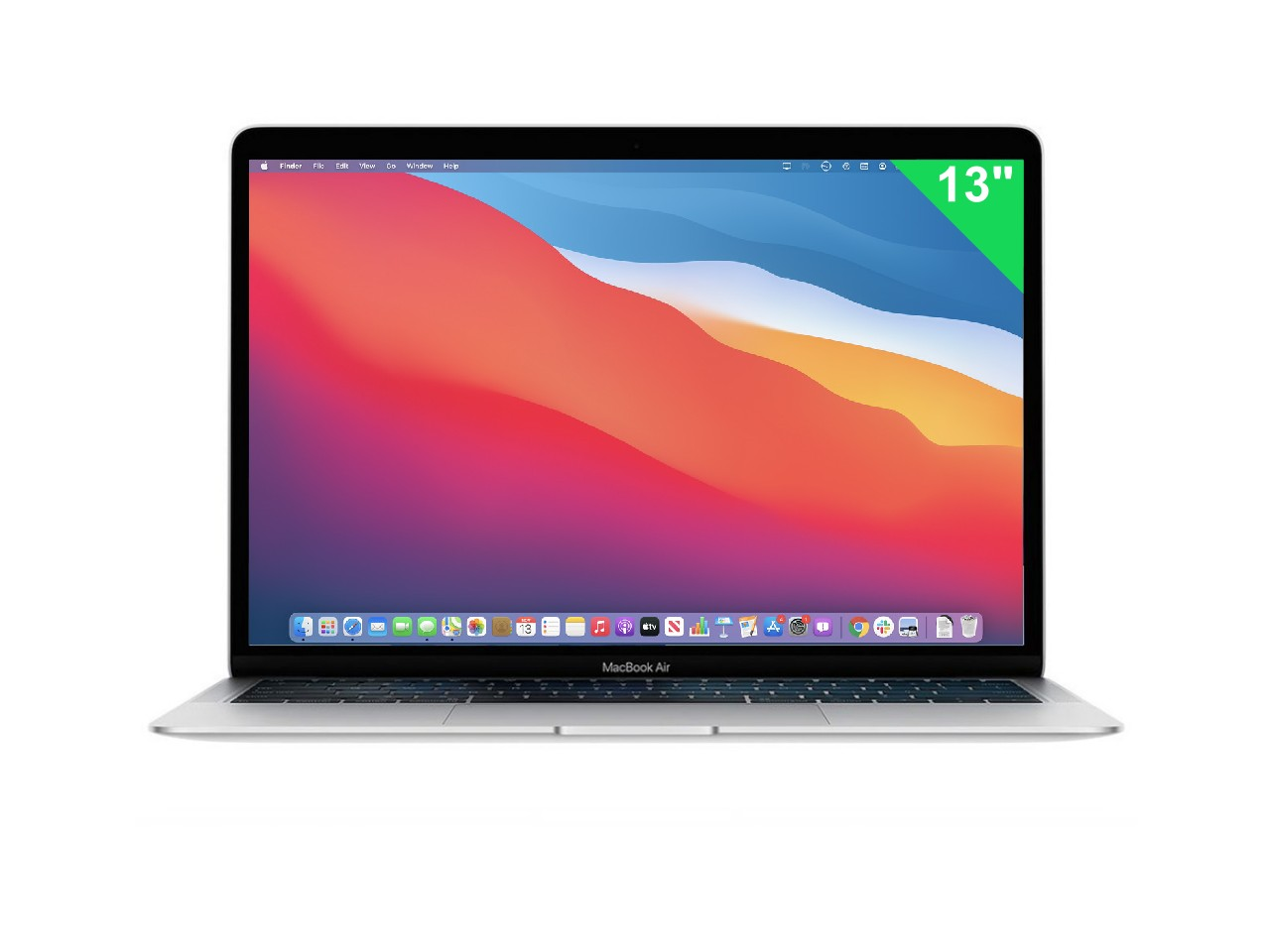 13 Apple MacBook Air Retina 2020 Silver ID: 2084459